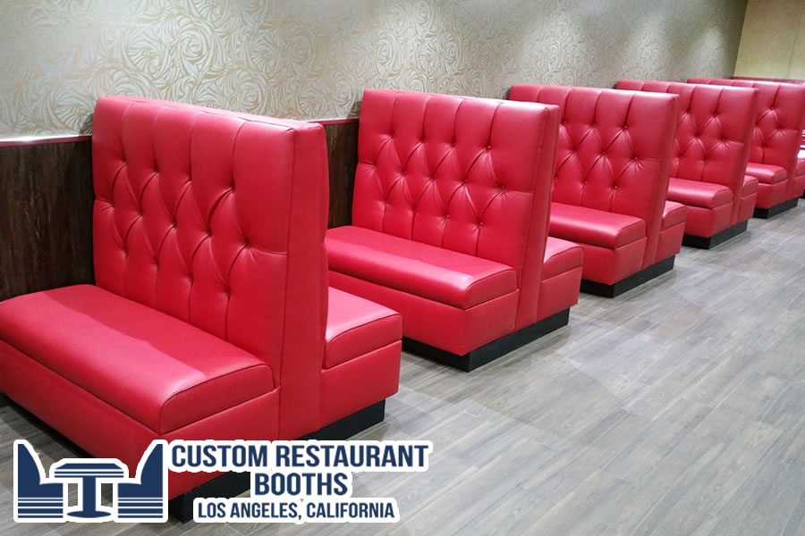 custom restaurant booths la